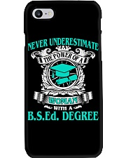 BSEd DEGREE 2018 GRADUATION Phone Case thumbnail