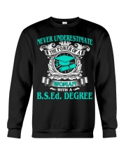 BSEd DEGREE 2018 GRADUATION Crewneck Sweatshirt thumbnail
