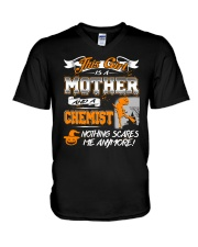 Chemist Mother 2018 Halloween Costume V-Neck T-Shirt thumbnail