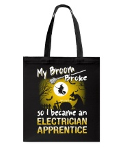 Electrician Apprentice 2018 Halloween Costumes Tote Bag thumbnail