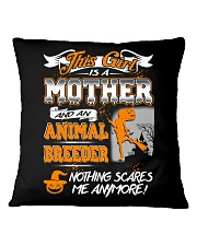 ANIMAL BREEDER Mother 2018 Halloween Costume Square Pillowcase thumbnail