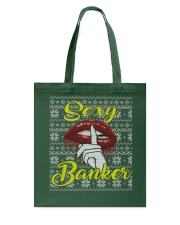 SEXY BANKER UGLY CHRISTMAS SWEATER Tote Bag thumbnail