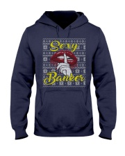 SEXY BANKER UGLY CHRISTMAS SWEATER Hooded Sweatshirt thumbnail