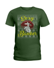 SEXY BANKER UGLY CHRISTMAS SWEATER Ladies T-Shirt thumbnail