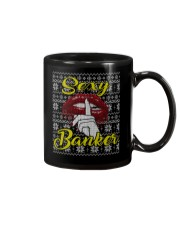 SEXY BANKER UGLY CHRISTMAS SWEATER Mug thumbnail