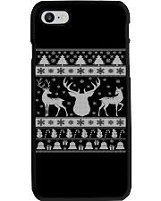 REINDEER UGLY CHRISTMAS SWEATER REINDEER XMAS GIFT Phone Case thumbnail