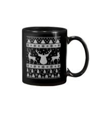 REINDEER UGLY CHRISTMAS SWEATER REINDEER XMAS GIFT Mug thumbnail