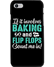 LOVE BAKING AND FLIP FLOPS MEN WOMEN GIFT Phone Case thumbnail