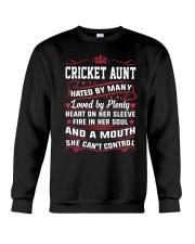 AWESOME CRICKET AUNT Crewneck Sweatshirt thumbnail