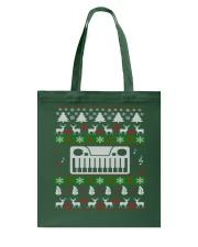 SYNTHESIZER UGLY CHRISTMAS SWEATER XMAS Tote Bag thumbnail