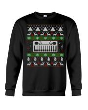 SYNTHESIZER UGLY CHRISTMAS SWEATER XMAS Crewneck Sweatshirt thumbnail