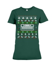 SYNTHESIZER UGLY CHRISTMAS SWEATER XMAS Premium Fit Ladies Tee thumbnail