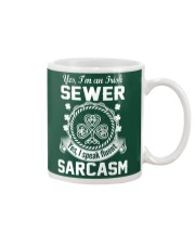 THIS IRISH SEWER SPEAKS FLUENT SARCASM Mug thumbnail