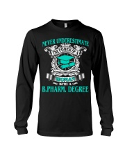 BPHARM DEGREE 2018 BEST GRAD Long Sleeve Tee thumbnail