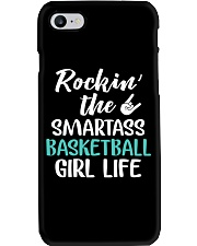 ROCKING THE SMARTASS BASKETBALL GIRL LIFE Phone Case tile