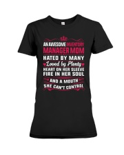 AWESOME INVENTORY MANAGER MOM Premium Fit Ladies Tee thumbnail