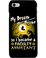 Faculty Assistant 2018 Halloween Costumes Phone Case thumbnail