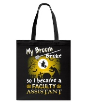 Faculty Assistant 2018 Halloween Costumes Tote Bag thumbnail