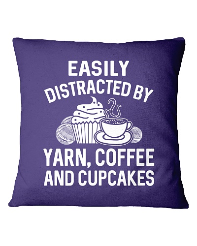 EASILY DISTRACTED BY YARN COFFEE AND CUPCAKES