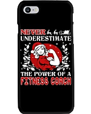Fitness Coach UGLY CHRISTMAS SWEATER XMAS GIFT Phone Case thumbnail