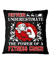 Fitness Coach UGLY CHRISTMAS SWEATER XMAS GIFT Square Pillowcase thumbnail