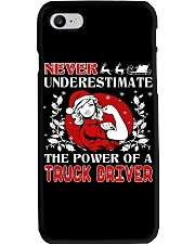 TRUCK DRIVER  UGLY CHRISTMAS SWEATER TRUCK DRIVER Phone Case thumbnail