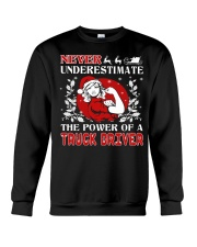 TRUCK DRIVER  UGLY CHRISTMAS SWEATER TRUCK DRIVER Crewneck Sweatshirt thumbnail