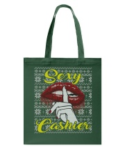 SEXY CASHIER UGLY CHRISTMAS SWEATER CASHIER XMAS Tote Bag thumbnail