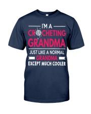 CROCHETING GRANDMA IS MUCH COOLER Classic T-Shirt thumbnail