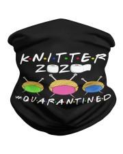 KNITTER 2020 QUARANTINED YARN IN FACEMASK Neck Gaiter thumbnail