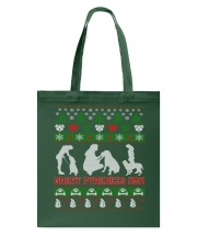 GREAT PYRENEES MOM UGLY CHRISTMAS SWEATER XMAS  Tote Bag thumbnail