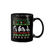 GREAT PYRENEES MOM UGLY CHRISTMAS SWEATER XMAS  Mug thumbnail
