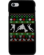 BASKETBALL GUY UGLY CHRISTMAS SWEATER Phone Case thumbnail