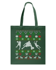 BASKETBALL GUY UGLY CHRISTMAS SWEATER Tote Bag thumbnail