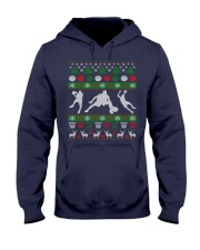 BASKETBALL GUY UGLY CHRISTMAS SWEATER Hooded Sweatshirt thumbnail