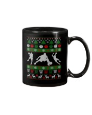 BASKETBALL GUY UGLY CHRISTMAS SWEATER Mug thumbnail