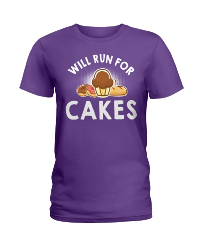 WILL RUN FOR CAKES FUNNY
