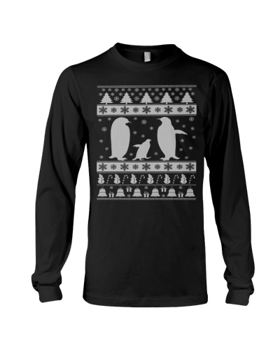 PENGUIN UGLY CHRISTMAS SWEATER PENGUIN LOVERS XMAS