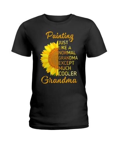 GRANDMOTHER GIFT COOL PAINTING GRANDMA