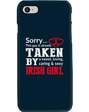 SORRY TAKEN BY A IRISH Phone Case thumbnail