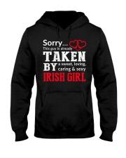 SORRY TAKEN BY A IRISH Hooded Sweatshirt thumbnail