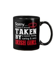SORRY TAKEN BY A IRISH Mug thumbnail