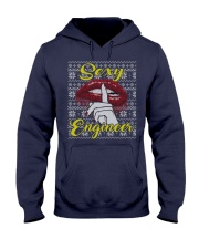 SEXY ENGINEER UGLY CHRISTMAS SWEATER ENGINEER XMAS Hooded Sweatshirt thumbnail