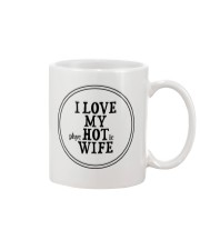 I Love My Hot Wife Mug tile