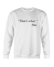That's What She Said Crewneck Sweatshirt thumbnail