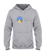 Pyramid Pie Hooded Sweatshirt front