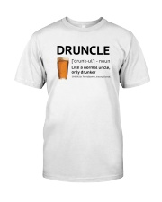 Druncle - Like a normal uncle only drunker Premium Fit Mens Tee thumbnail