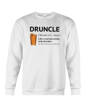 Druncle - Like a normal uncle only drunker Crewneck Sweatshirt thumbnail