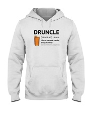 Druncle - Like a normal uncle only drunker Hooded Sweatshirt thumbnail