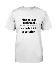 The Solution Classic T-Shirt front